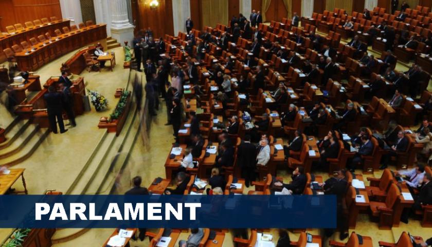 Parlamentul României, moțiune de cenzură, opoziție