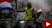 Franța: pietre, gaze și tunuri cu apă