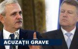 Liviu Dragnea l-a acuzat Klaus Iohannis de înaltă trădare. Plângerea va fi depusă după Anul Nou