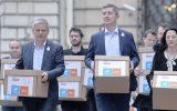 Alianţa USR-PLUS a depus lista candidaţilor la europarlamentare