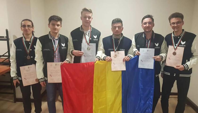 Șase medalii pentru cei șase studenți ai Politehnicii ieșene la Olimpiada internațională de matematică SEEMOUS 2019