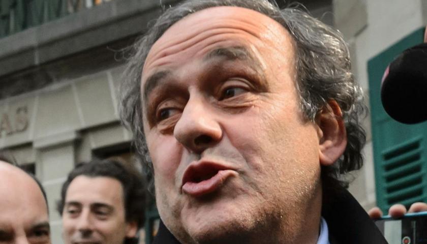 Michel Platini, pus în libertate după o audiere de mai multe ore