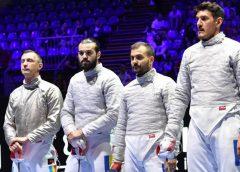 Echipa masculină de sabie a României, locul 8 la Mondiale