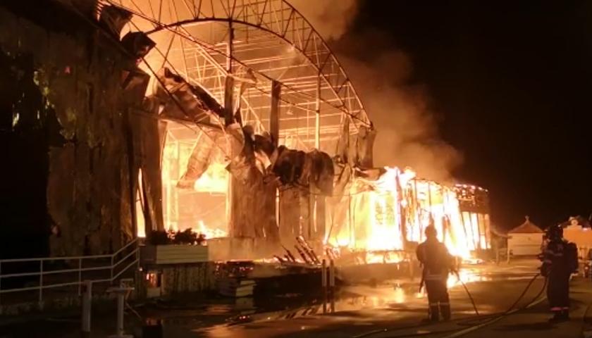 Incendiu club din Mamaia