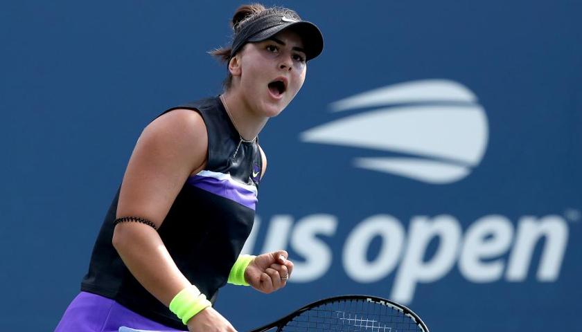 Bianca Andreescu s-a calificat în semifinale la US Open