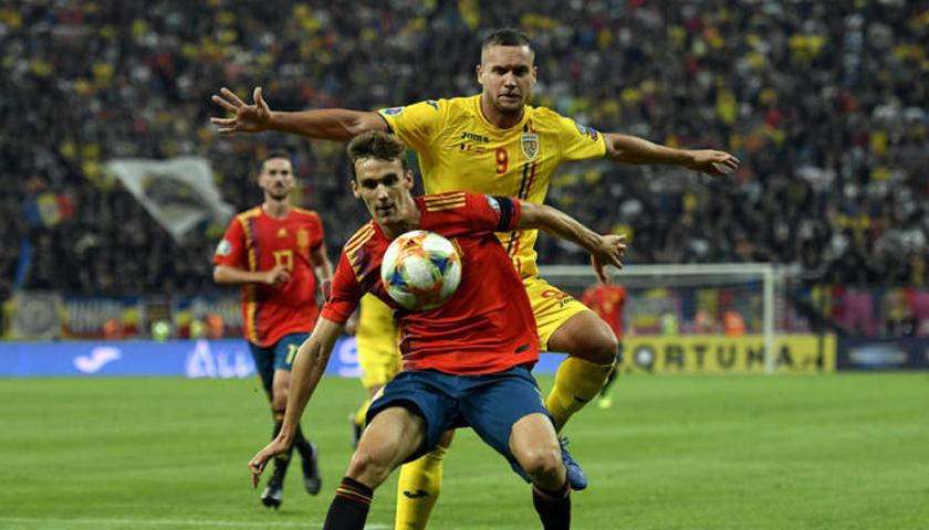 România a pierdut în fața Spaniei cu 1-2 în preliminariile EURO 2020 de fotbal