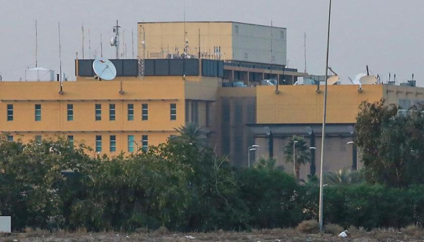 Trei rachete Katiușa au căzut pe ambasada americană din Bagdad