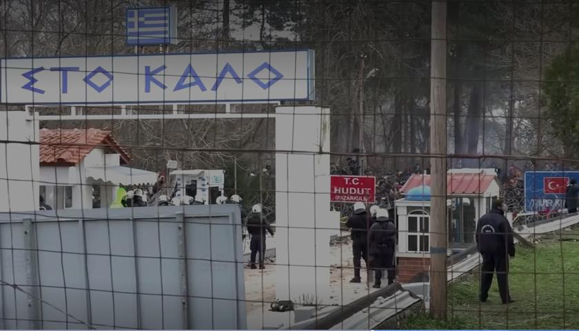 Confruntări între poliţia greacă şi migranţi la frontiera turcă