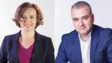 Deputaţii Cosette Chichirău şi Marius Bodea sunt candidaţii USR-PLUS la Primărie, respectiv CJ Iași