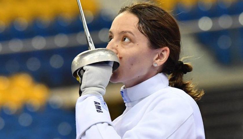 Ana-Maria Popescu, câştigătoarea Cupei Mondiale la spadă