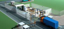 Scaner mobil pentru controlul vehiculelor și containerelor din zona Portului Constanța