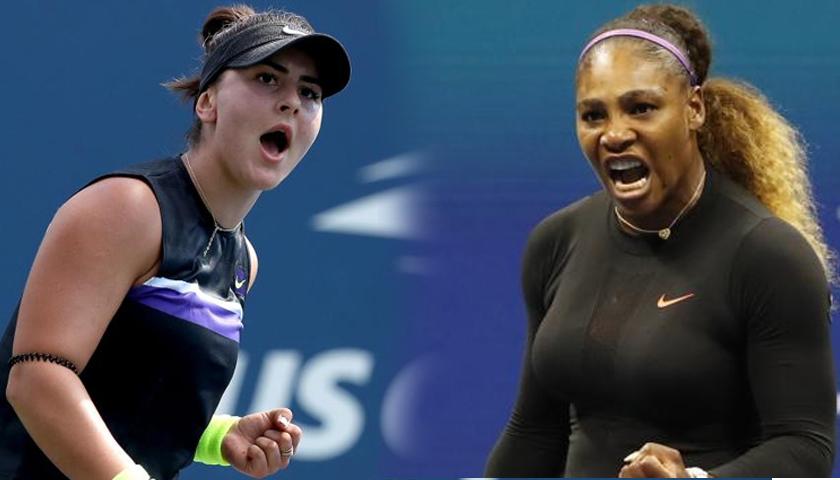 Bianca Andreescu şi Serena Williams